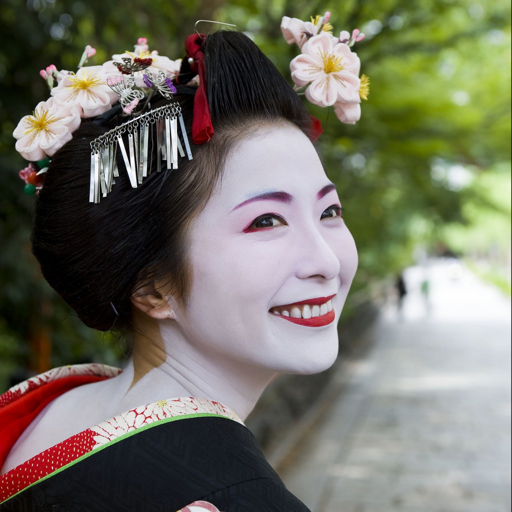 Geisha, photo by Greg Elms