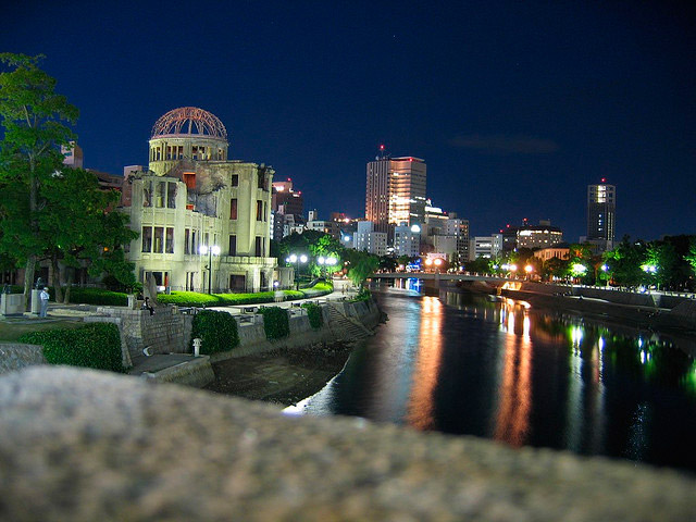 hiroshima and night A detailed timeline of the bombings of hiroshima and nagasaki  the  overloaded enola gay lifts slowly into the night sky, using all of the more.